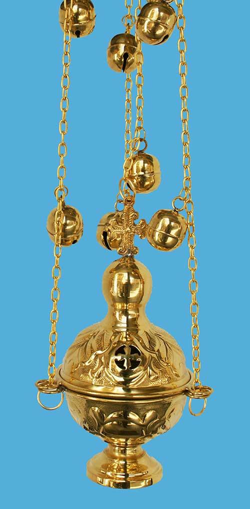 Кадилница мала, широка - шигра - 18105