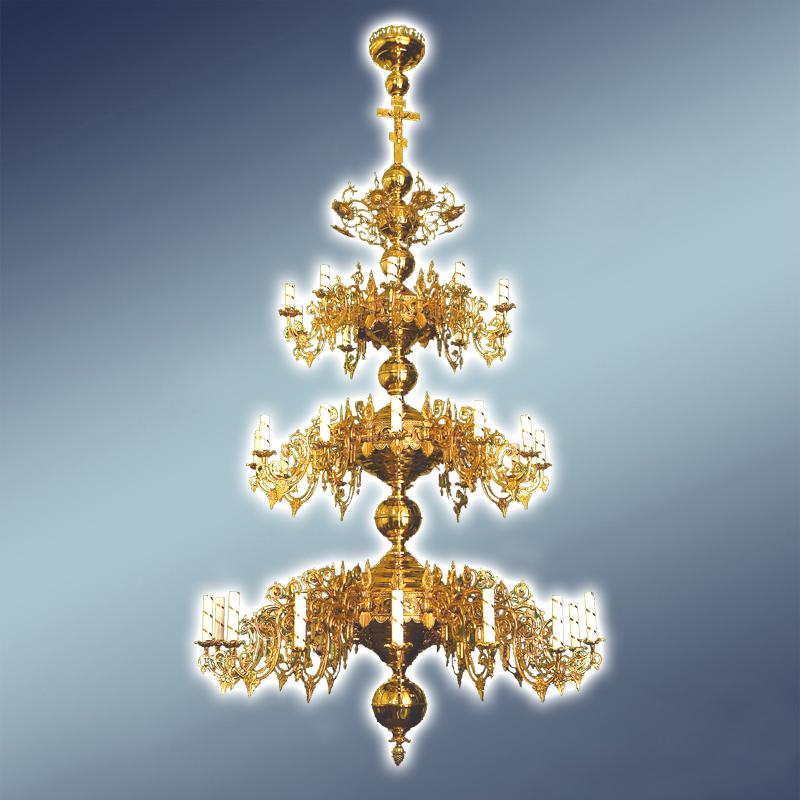 Полиелеј - цена- 3.500 евра- шифра-21 - 36 свеќи