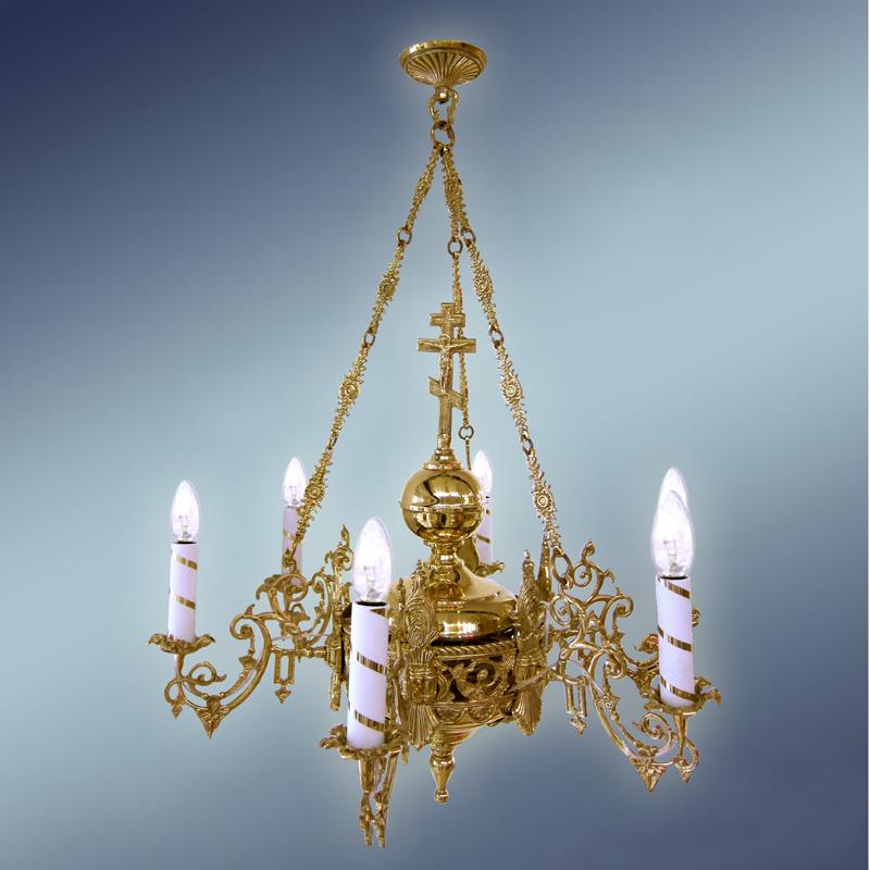 Полиелеј - цена-400 евра- шифра-1 -6 свеќи