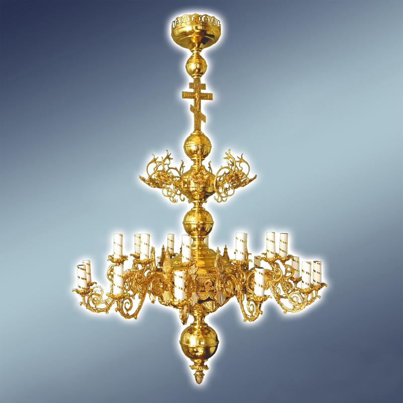 Полиелеј - цена- 800 евра- шифра- 32 - 12 свеќи