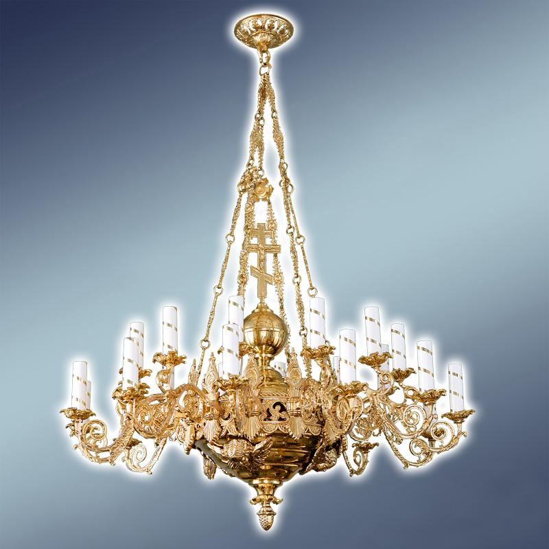 Полиелеј - 850 евра-шифра- 45- 24 свеќи