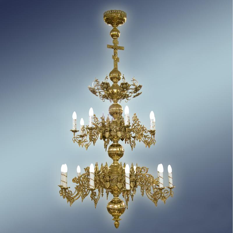 полиелеј - цена- 800 евра- шифра-10 - 9 свеќи
