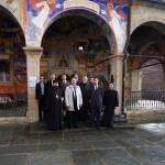 Прием во Осоговскиот манастир