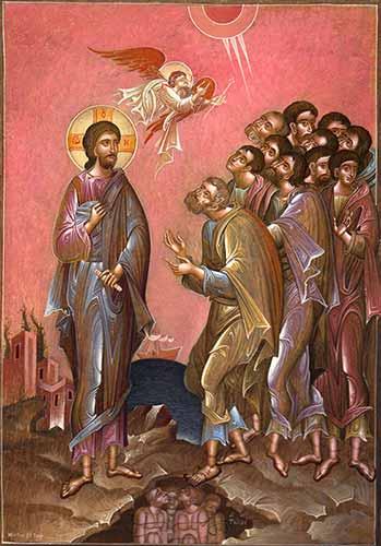 Христос и апостолите