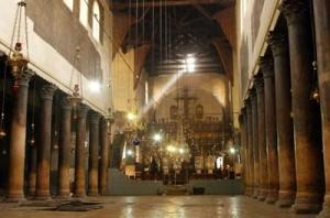 Внатрешноста на црквата