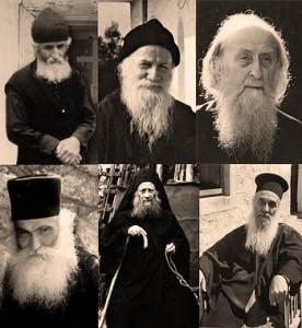 Канонизација на светогорски старци