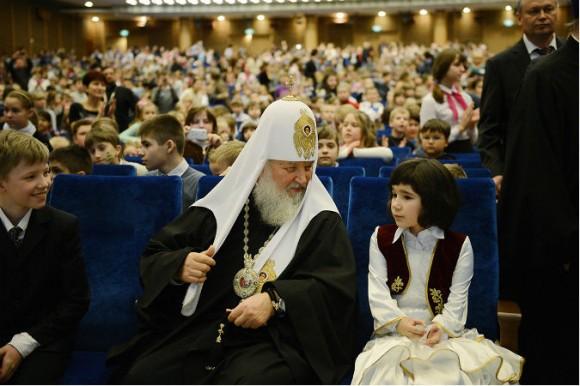 Патријархот Кирил и Мила