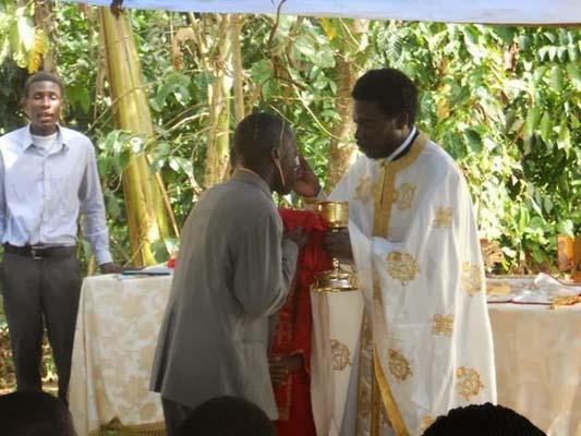 Божик во Уганда