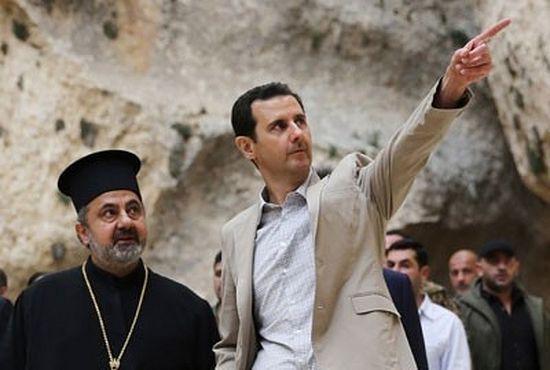 Претседателот на Сирија од Маалула го честита Велигден